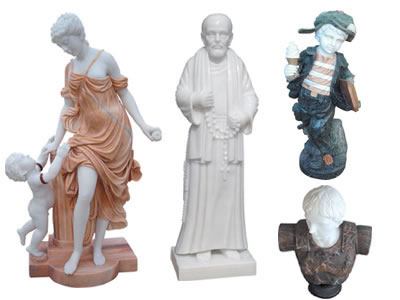 Marble Human Sculptures